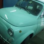 Fiat 500 Acqua Marina